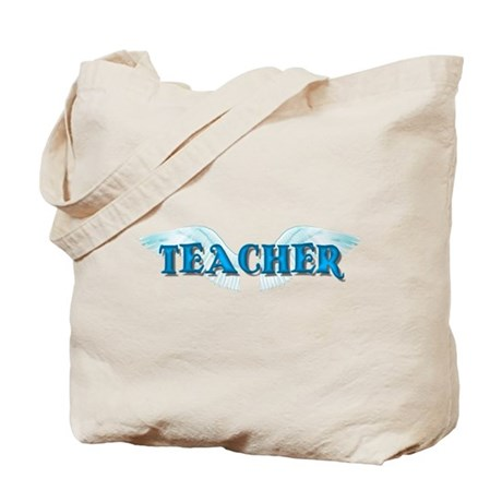 Angel Wings Teacher Tote Bag