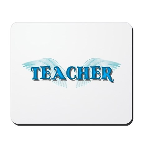 Angel Wings Teacher Mousepad