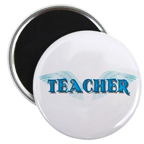 "Angel Wings Teacher 2.25"" Magnet (100 pack)"