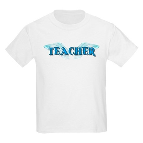 Angel Wings Teacher Kids Light T-Shirt