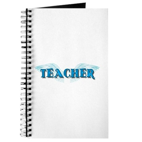 Angel Wings Teacher Journal