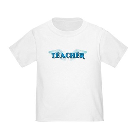 Angel Wings Teacher Toddler T-Shirt