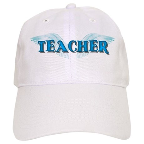 Angel Wings Teacher Cap