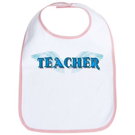 Angel Wings Teacher Bib