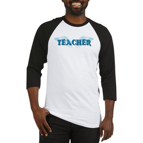 Angel Wings Teacher Baseball Jersey
