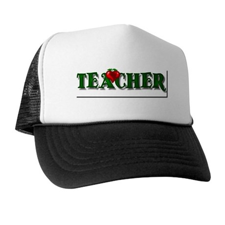 Teacher Apple Trucker Hat