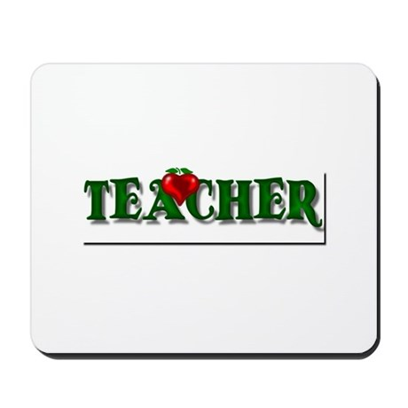 Teacher Apple Mousepad