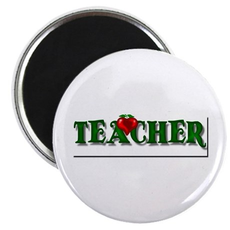 "Teacher Apple 2.25"" Magnet (10 pack)"