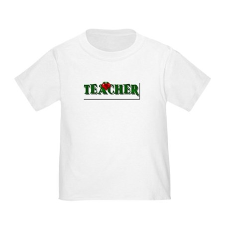 Teacher Apple Toddler T-Shirt