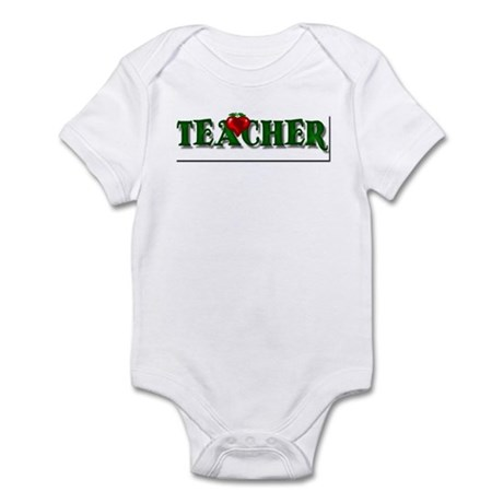 Teacher Apple Infant Bodysuit