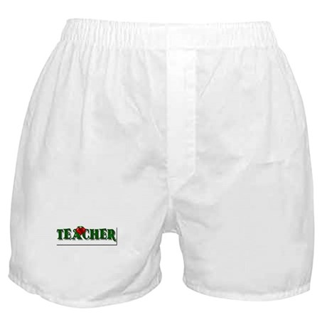 Teacher Apple Boxer Shorts