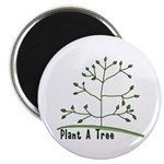 Plant A Tree 2.25&quot; Magnet (10 pack)