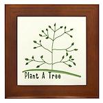 Plant A Tree Framed Tile