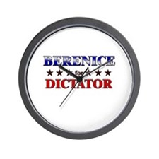 BERENICE for dictator Wall Clock