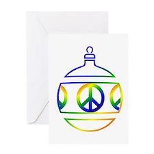 Secret Santa Card Greeting Card
