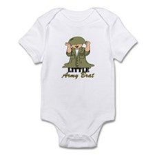 Army BRAT Little Soldier  Infant Bodysuit