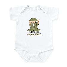Army BRAT Little Soldier  Onesie