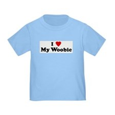 I Love My Woobie T