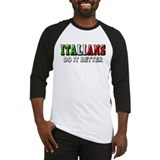 Italians Do it Better Italian Baseball Jersey