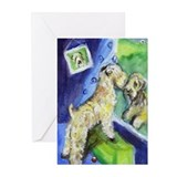 Soft Coated Wheaten Terrier w Greeting Cards (Pack