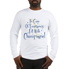 Champagne Long Sleeve T-Shirt