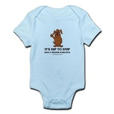 Hip 2 Snip Infant Bodysuit