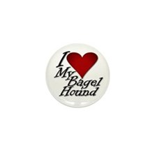 I Heart My Bagel Mini Button (100 pack)