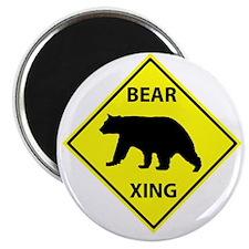 "Bear Crossing 2.25"" Magnet (100 pack)"