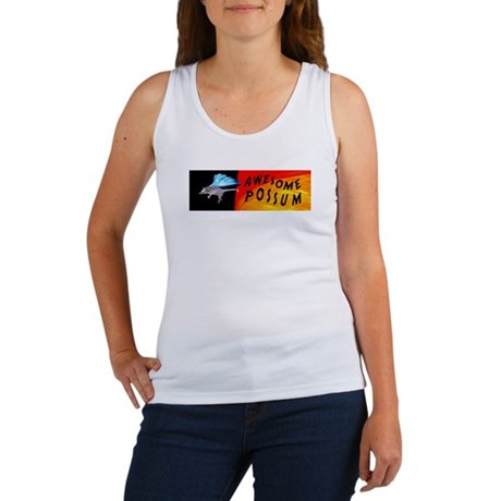 Flying Awesome Possum Women's Tank Top