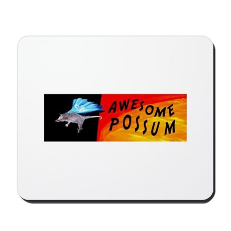 Flying Awesome Possum Mousepad