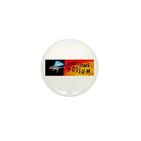 Flying Awesome Possum Mini Button (10 pack)