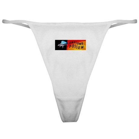 Flying Awesome Possum Classic Thong