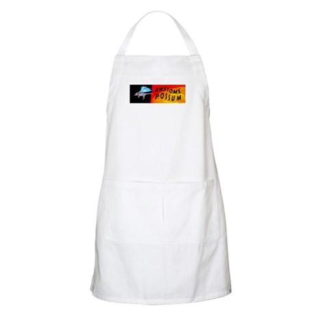 Flying Awesome Possum BBQ Apron