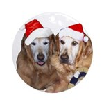 Penny and Jordan Ornament (Round)