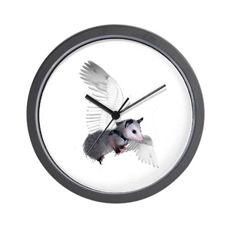 Angel Possum Wall Clock