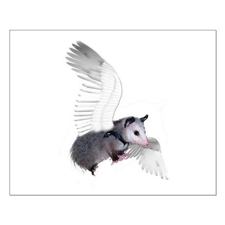 Angel Possum Small Poster