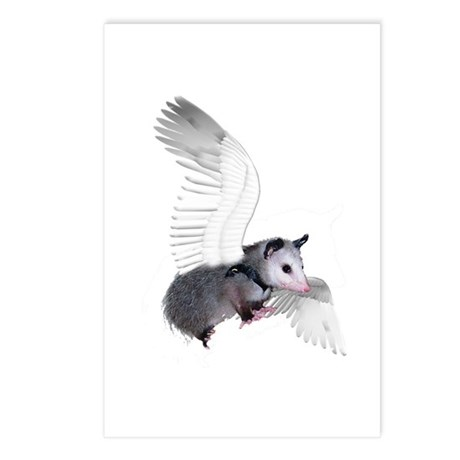 Angel Possum Postcards (Package of 8)