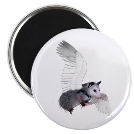 "Angel Possum 2.25"" Magnet (100 pack)"