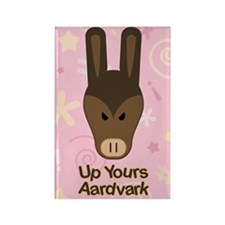 Up Yours Aardvark Rectangle Magnet