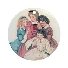 Smith's Little Women Ornament (Round)