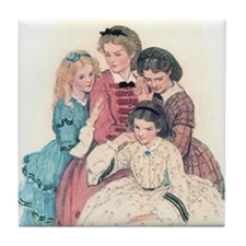 Smith's Little Women Tile Coaster