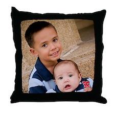 Kameron & Keeghan 2007 Throw Pillow