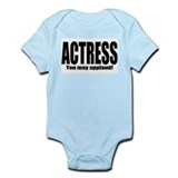 "ThMisc ""Actress"" Infant Bodysuit"