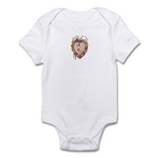 Victorian Heart Valentine Infant Bodysuit