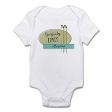 Everybody Loves a Receptionist Infant Bodysuit