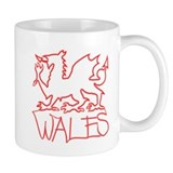 ...Neon Wales... Small Mug