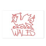 ...Neon Wales... Postcards (Package of 8)