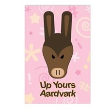 Up Yours Aardvark Postcards (Package of 8)