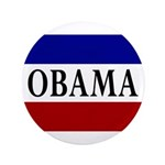 Obama! Red White and Blue Button