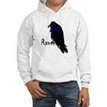 Raven on Raven Hooded Sweatshirt